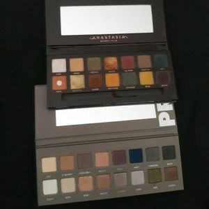 Anastasia Beverly hills and Lorac palette